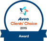 Avvo Client's Choice Award Logo